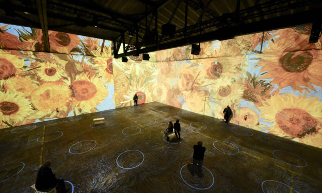 The cool new Immersive Van Gogh San Francisco exhibit is a definite must see and lives up to the hype