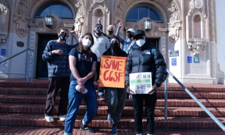 Students Protest to Save City College of San Francisco Classes and Departments
