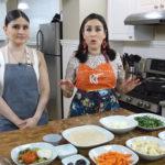 Hoy Margarita cocina Vegetales con Chile, una receta de su niñez