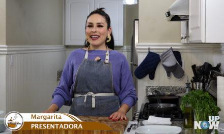 Hoy Margarita cocina ENFRIJOLADAS  y por primera vez tiene un invitado en el estudio