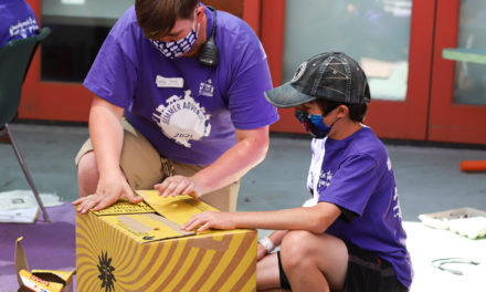 Summer camp at Happy Hallow Park & Zoo in San Jose, bring kids in contact with animals