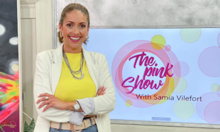 The Pink Show: our team take a pole dance class with Amy Bond