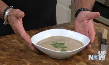 Mushroom Soup with North Coast Chardonnay on Quick Chop!