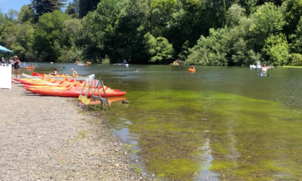 We visited Guerneville and other places in Sonoma County