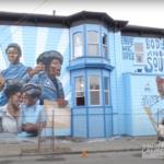 Novo mural em Oakland celebra as mulheres do Partido dos Panteras Negras