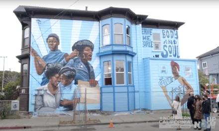 Nuevo mural en Oakland celebra a las mujeres del Partido Pantera Negra