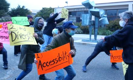 Los estudiantes / profesores de la CCSF se reúnen para generar conciencia sobre los cortes de clase críticos
