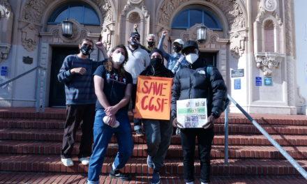 Estudantes protestam para salvar turmas e departamentos da City College of San Francisco