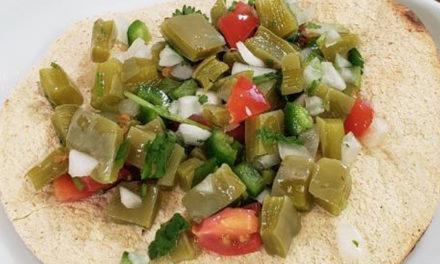 Recetarios Familiares Con Margarita: Ensalada Fresca de Nopales y Desayuno de Nopales