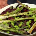 Quick Chop !: Ensalada de verano - remolacha asada con cebollín y judías verdes