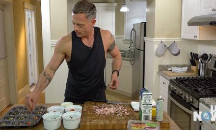 Cocinando con JJ: aprende a hacer panecillos de huevo saludables